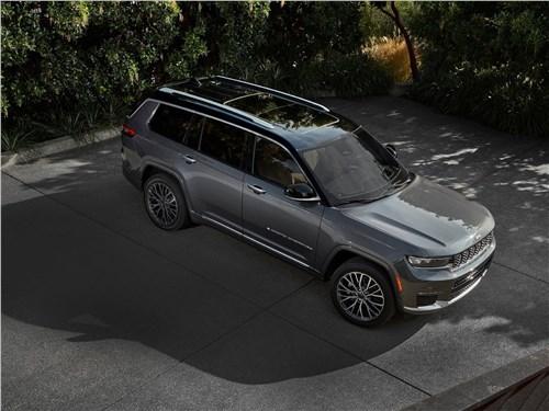Jeep Grand Cherokee L (2021) вид сверху