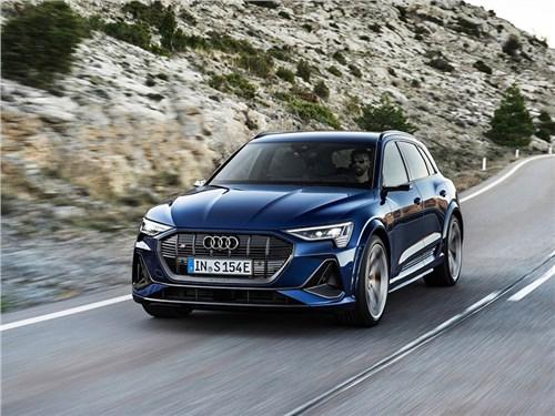 Audi везет в Россию три электрокара