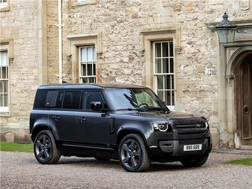 Представлен Land Rover Defender с мотором V8