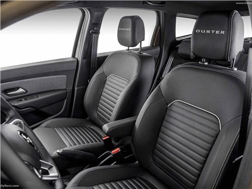 Предпросмотр renault duster (2021) передние кресла