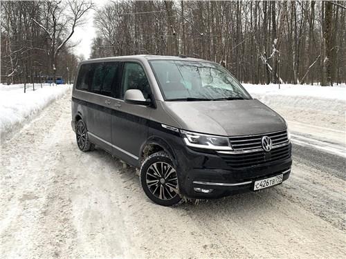 Volkswagen Multivan (2019) вид спереди