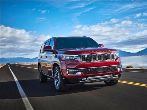Предпросмотр jeep wagoneer (2022) вид спереди