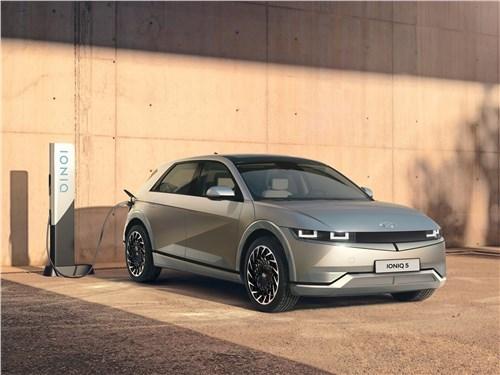 Hyundai Ioniq 5 (2022) вид спереди