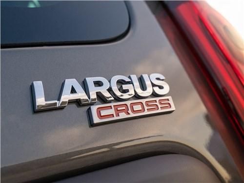 Предпросмотр lada largus cross (2020) шильдик