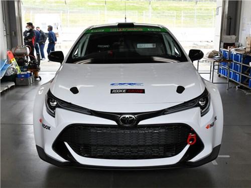 В Toyota представили водородный спорткар