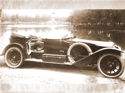 Автомобиль «Руссо-Бюир» – продукция фабрики Ильина