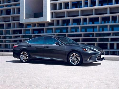 Стартовали продажи обновленного Lexus ES
