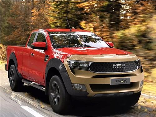 Новость про Ford Ranger - H2X Warrego