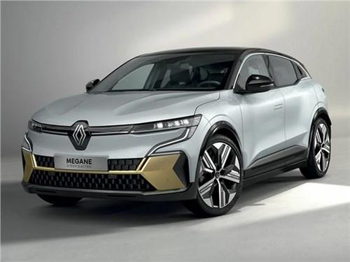 Электрический Renault Megan раскрыли до премьеры