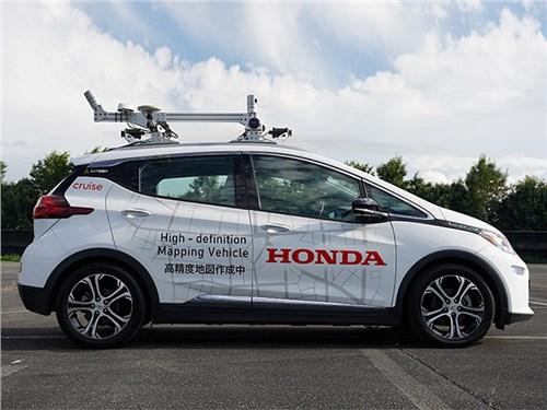 Honda запускает цикл испытаний беспилотников