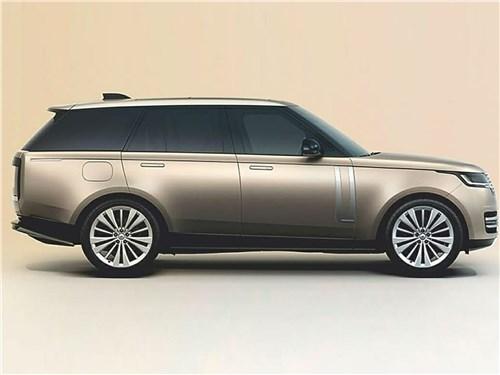 Если не мелочиться: в схватке за звание царя горы сошлись «технарь» BMW X7, брутальный Lexus LX и «аристократ» Range Rover Range Rover - Land Rover Range Rover (2021) вид сбоку