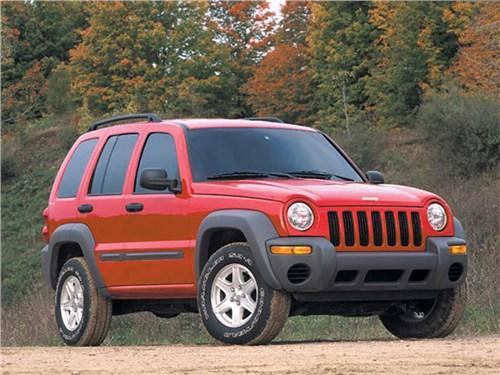 В России обнаружили старые небезопасные Jeep Liberty