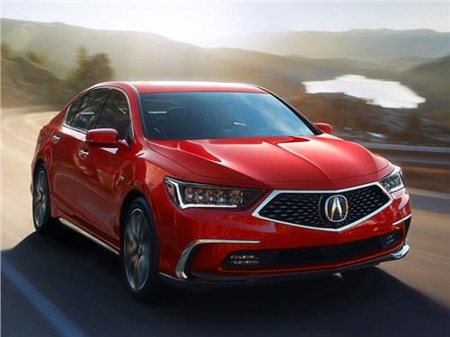 Acura обновила свой флагманский седан