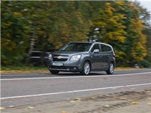 Chevrolet Orlando 2013 вид спереди