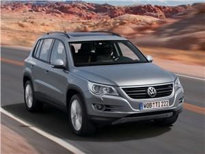 Volkswagen Tiguan в России отзывают