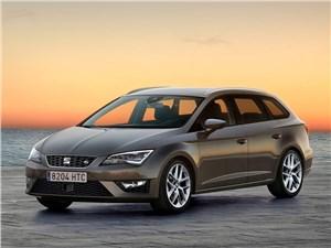 Новая версия Seat Leon ST будет доступна весной 2014 года