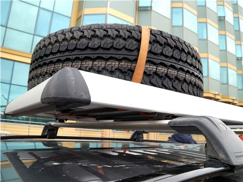 Land Rover Discovery Sport 2015 дополнительное (второе) запасное колесо