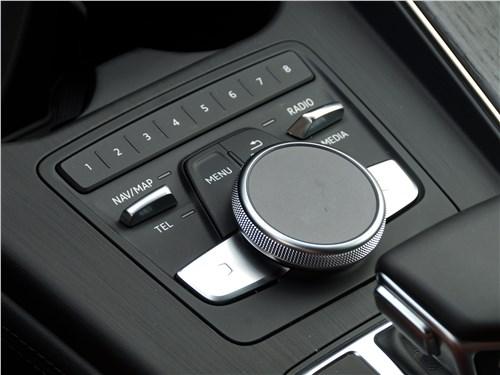 Audi A4 allroad quattro 2016 управление мультимедиасистемой