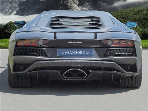 Mansory   Lamborghini Aventador вид сзади