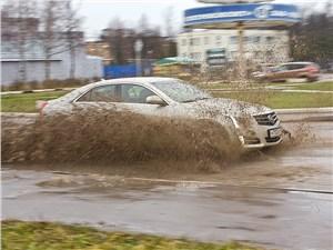 Предпросмотр cadillac ats 2012 пелет по грязи