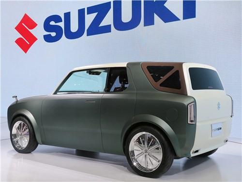 Suzuki WAKU Sport concept 2019 вид сзади