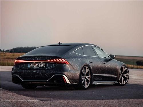 BlackBox-Richter | Audi RS 7 вид сзади