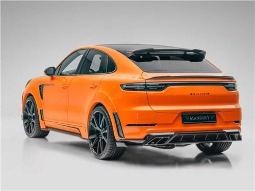 Mansory | Porsche Cayenne Coupe вид сзади