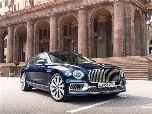 Bentley Flying Spur (2020) вид спереди