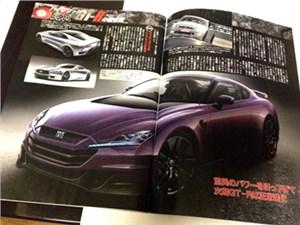 Мощность гибридной версии «заряженного» Nissan GT-R будет достигать 800 л.с.
