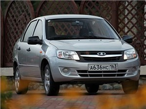 Седан Lada Granta получил несколько новых комплектаций: с шумоизоляцией, навигатором и аудисистемой