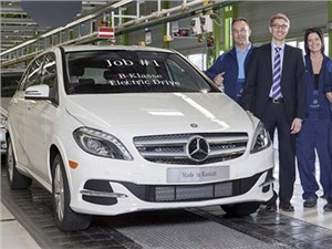 Новость про Mercedes-Benz B-Class Electric Drive - Mercedes-Benz B-class Electric Drive