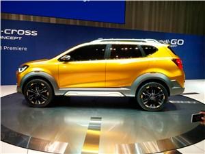 Предпросмотр datsun go-cross concept 2015 вид сбоку 2