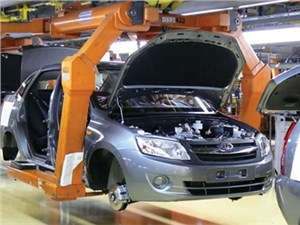 На Ижевском автозаводе прекратится производство седанов Lada Granta