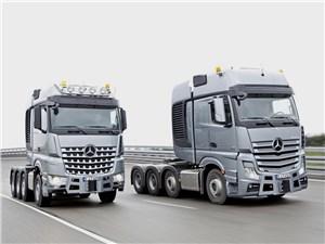 Mercedes-Benz Arocs SLT и Actros SLT 2014