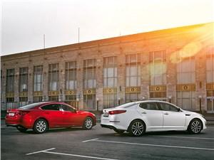 Сравнительный тест Mazda 6 и Kia Optima