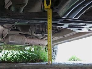 Chery Tiggo 2012 дорожный просвет