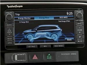 Mitsubishi Outlander PHEV 2014 монитор
