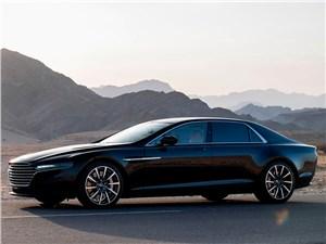 Aston Martin Lagonda 2015 вид спереди сбоку