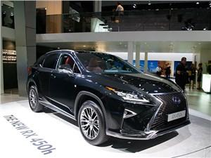 Lexus RX нового поколения появится на российском рынке в 2016 году