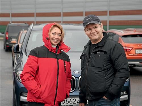 Анастасия Писарева («Автоплюс») и член жюри Александр Катаев