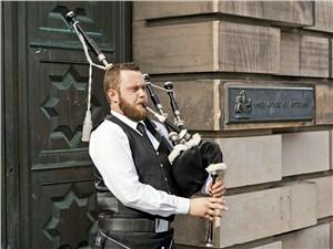 Волынка – один из символов Шотландии