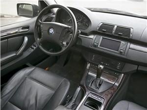 BMW X5 2004 водительское место