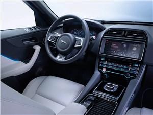 Предпросмотр jaguar f-pace 2016 водительское место