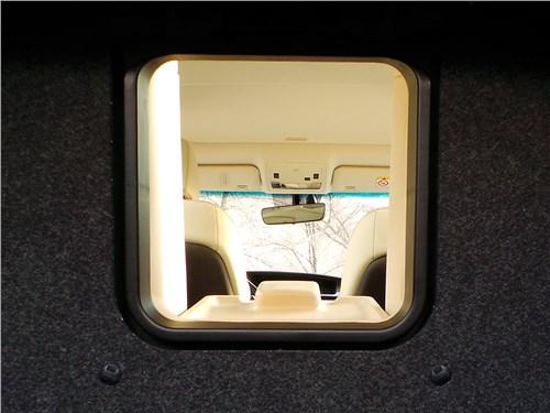 Lexus ES 200 2016 лючок из багажника