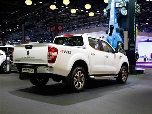 Renault Alaskan 2017 Грузовой-бортовой Renault