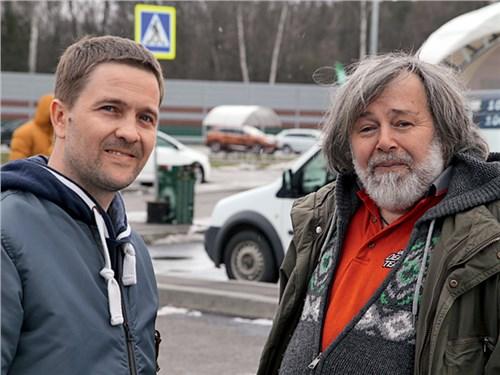 Егор Добровольский (Cadillac) и Петр Воронков («Своё радио»)