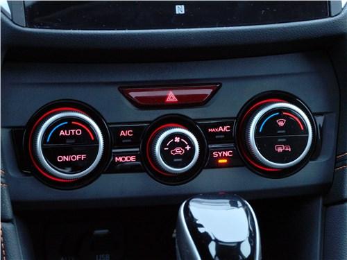 Subaru XV 2018 управление климатом