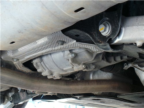 Land Rover Range Rover Evoque 2020 система полного привода
