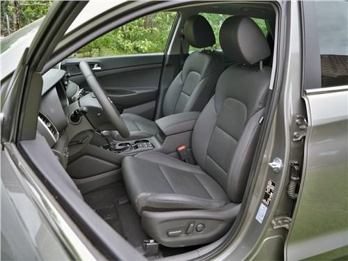 Hyundai Tucson 2019 передние кресла