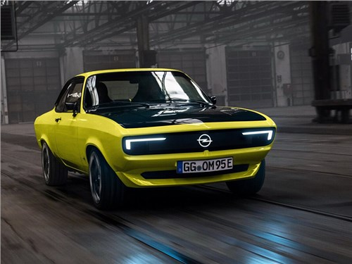 Opel возродил легендарную Manta